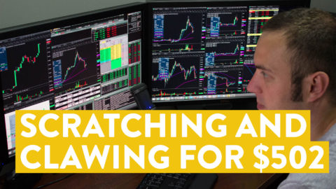 [LIVE] Day Trading | Scratching and Clawing for My $502...