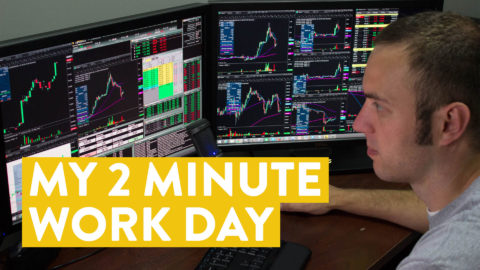 [LIVE] Day Trading | My 2 Minute Work Day as a Trader