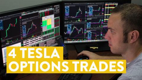 [LIVE] Day Trading | 4 TSLA Options Trades