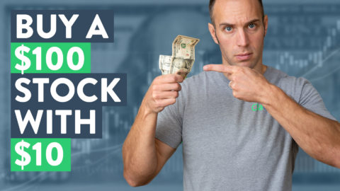 How to Buy a $100 Stock With Only $10 (Investing for Beginners)