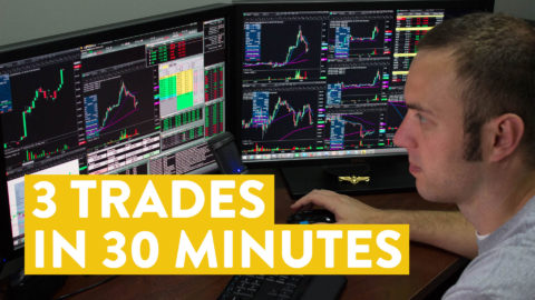 [LIVE] Day Trading   3 Trades in 30 Minutes (see results)