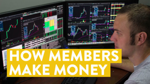 [LIVE] Day Trading   How Members Make Money With Me (fun stuff!)