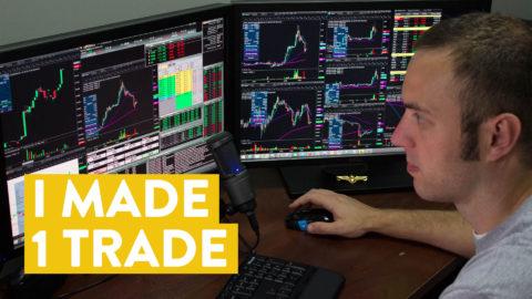 [LIVE] Day Trading | I Made 1 Trade