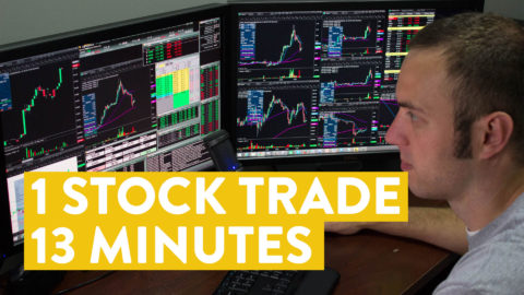 [LIVE] Day Trading | 1 Stock Trade, 13 Minutes. Did I Make Money?