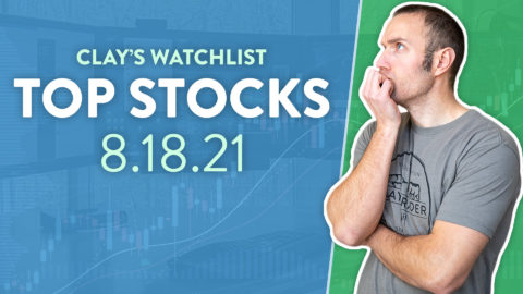 Top 10 Stocks For August 18, 2021 ( $VRPX, $AMC, $SESN, and more! )