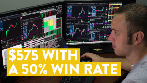 [LIVE] Day Trading | Making $575 With a 50% Win Rate