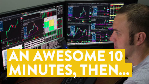 [LIVE] Day Trading | An Awesome 10 Minutes... and then...