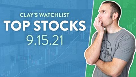 Top 10 Stocks For September 15, 2021 ( $FCEL, $AMC, $CEI, and more! )