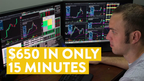 [LIVE] Day Trading | I Made $650 Online in Only 15 Minutes...