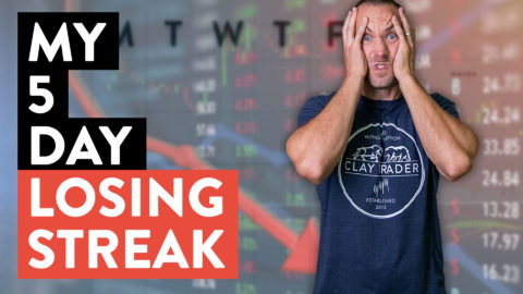 My 5 Day Trading Losing Streak... (Day Trader Truths)