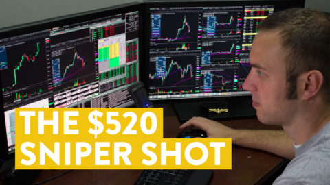 [LIVE] Day Trading   The $520 Sniper Shot