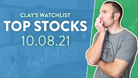 Top 10 Stocks For October 08, 2021 ( $CEI, $AMC, $GROM, and more! )