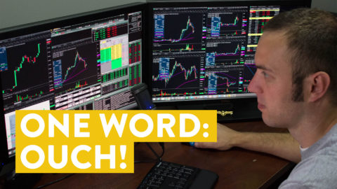 [LIVE] Day Trading | One Word: Ouch! (Day Trader Reality)